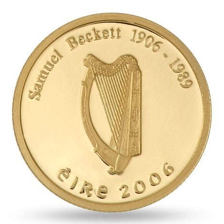 (EUR09.ComBU&BE.2006.2000.BE.1136) 20 euro Irlande 2006 or BE - Samuel Beckett Avers