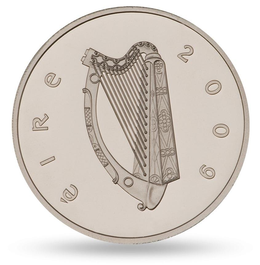 (EUR09.ComBU&BE.2009.1000.BE.1544_73) 10 euro Ireland 2009 Proof silver - Ploughman Obverse (zoom)