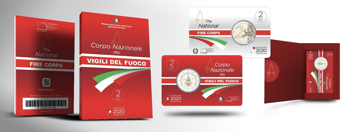 (EUR10.ComBU&BE.2020.200.BU.48-2MS10-20P008) 2 euro Italy 2020 BU - National Fire Corps (packaging) (zoom)