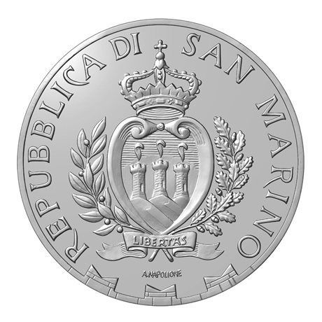 (EUR18.1000.2020.COM1) 10 euro Saint-Marin 2020 - Rencontre nationale alpine Avers