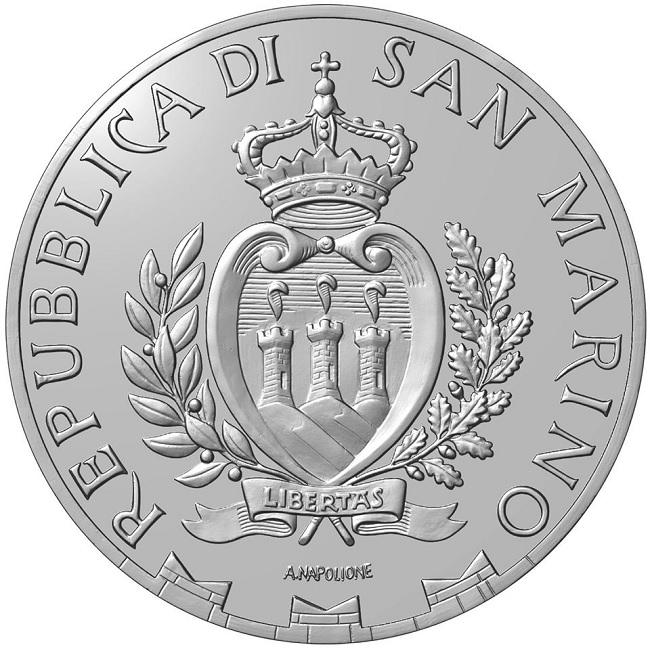 (EUR18.1000.2020.COM1) 10 euro San Marino 2020 - Rimini Obverse (zoom)