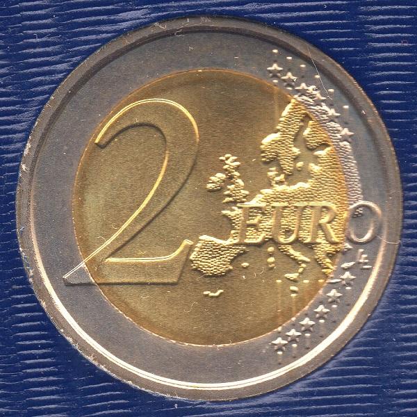 (EUR19.ComBU&BE.2014.200.BU.COM1.000000002) 2 euro Vatican 2014 - Berlin Wall Reverse (zoom)