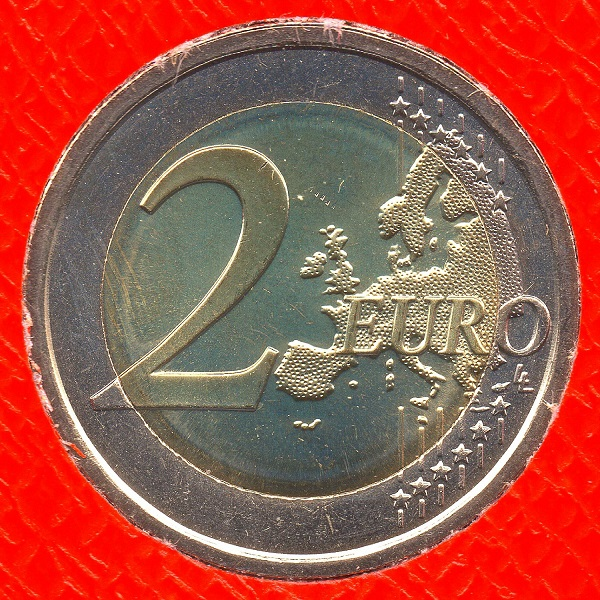 (EUR19.ComBU&BE.2016.200.BU.COM2) 2 euro Vatican 2016 - Jubilee of Mercy Reverse (zoom)