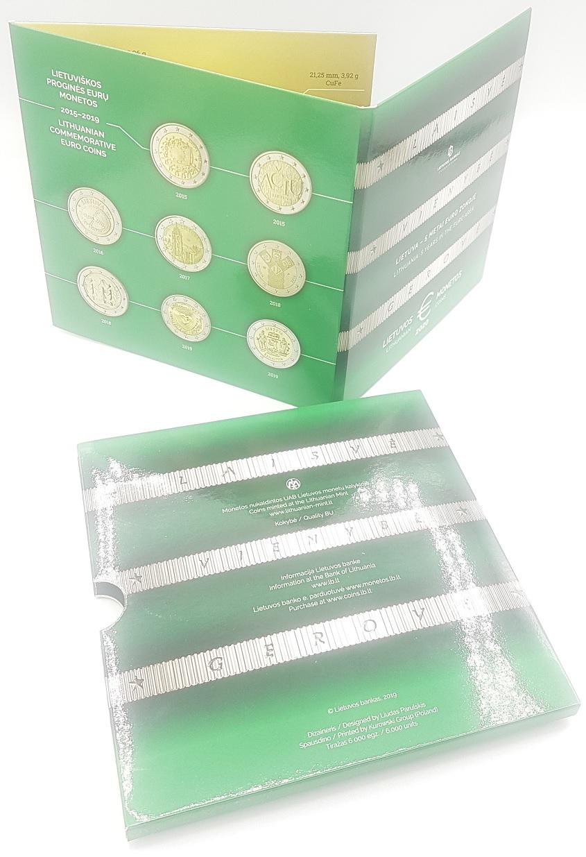 (EUR22.CofBU&FDC.2020.Cof-BU.000000001) BU coin set Lithuania 2020 (cover) (zoom)