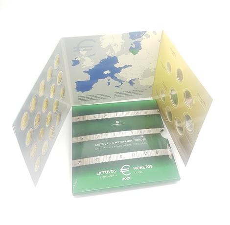 (EUR22.CofBU&FDC.2020.Cof-BU.000000001) Coffret BU Lituanie 2020 (intérieur)