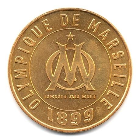 (FMED.Méd.souv.2016.CuAlNi1.000000001) Jeton souvenir - Olympique de Marseille Avers