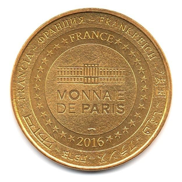(FMED.Méd.souv.2016.CuAlNi1.000000001) Memory token - Olympique de Marseille Reverse (zoom)