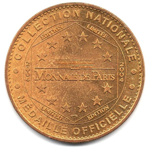 (FMED.Méd.tourist.2004.CuAlNi1.1.sup.000000001) Tourism token - Arromanches Reverse (zoom)