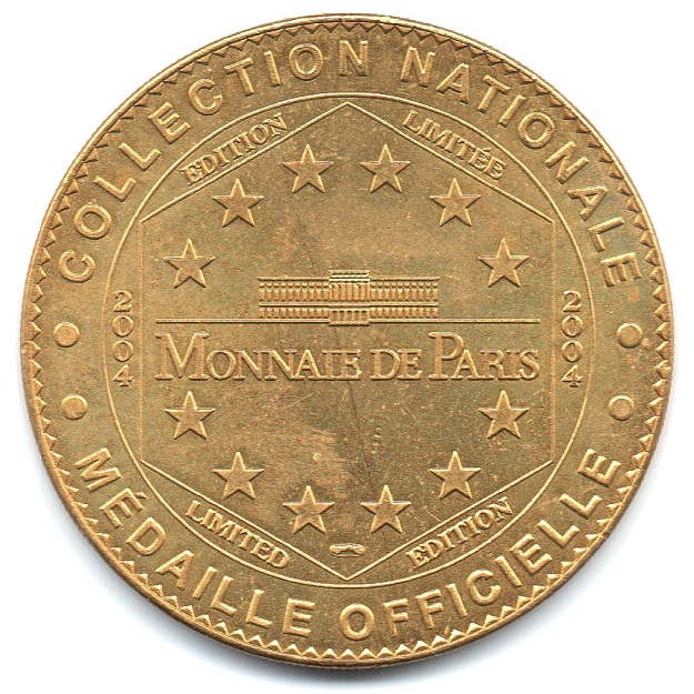(FMED.Méd.tourist.2004.CuAlNi14.1.sup.000000001) Tourism token - Memorial of Caen Reverse (zoom)
