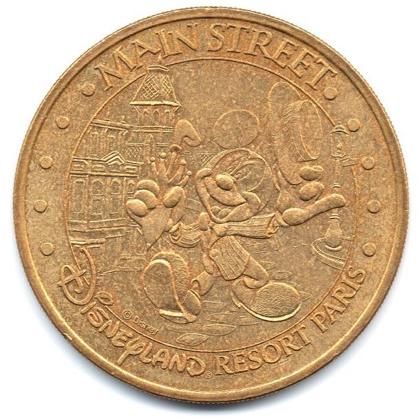 (FMED.Méd.tourist.2004.CuAlNi14.sup.000000001) Tourism token - Main Street Obverse (zoom)