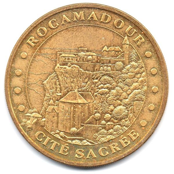 (FMED.Méd.tourist.2004.CuAlNi18.sup.000000001) Rocamadour Obverse (zoom)