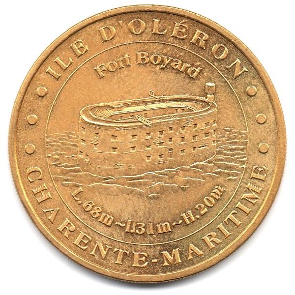 (FMED.Méd.tourist.2004.CuAlNi6.2.sup.000000001) Tourism token - Fort Boyard Obverse (zoom)