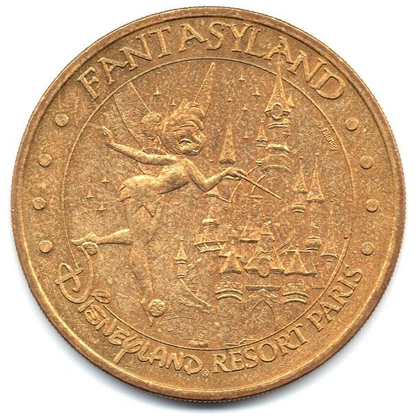 (FMED.Méd.tourist.2004.CuAlNi6.sup.000000001) Tourism token - Fantasyland Obverse (zoom)