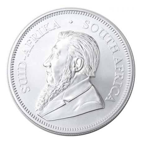 (W002.Kr.2020.1.ag.bullco.1) Krugerrand Afrique du Sud 2020 1 once argent - Paul Kruger Avers