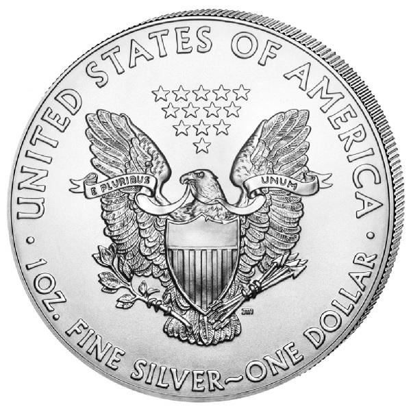 (W071.100.2020.1.ag.bullco.1) 1 dollar USA 2020 1 oz silver - American eagle Reverse (zoom)