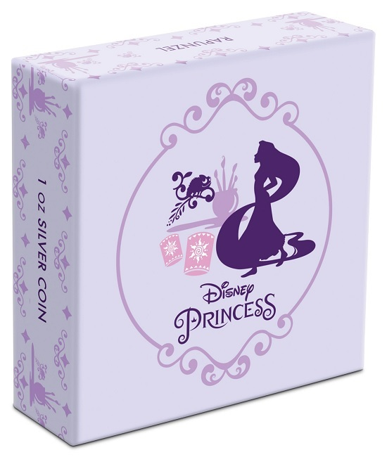 (W160.200.2020.1.ag.bullco.30-00887) 2 dollars Niue 2020 1 oz Proof silver - Rapunzel (box) (zoom)