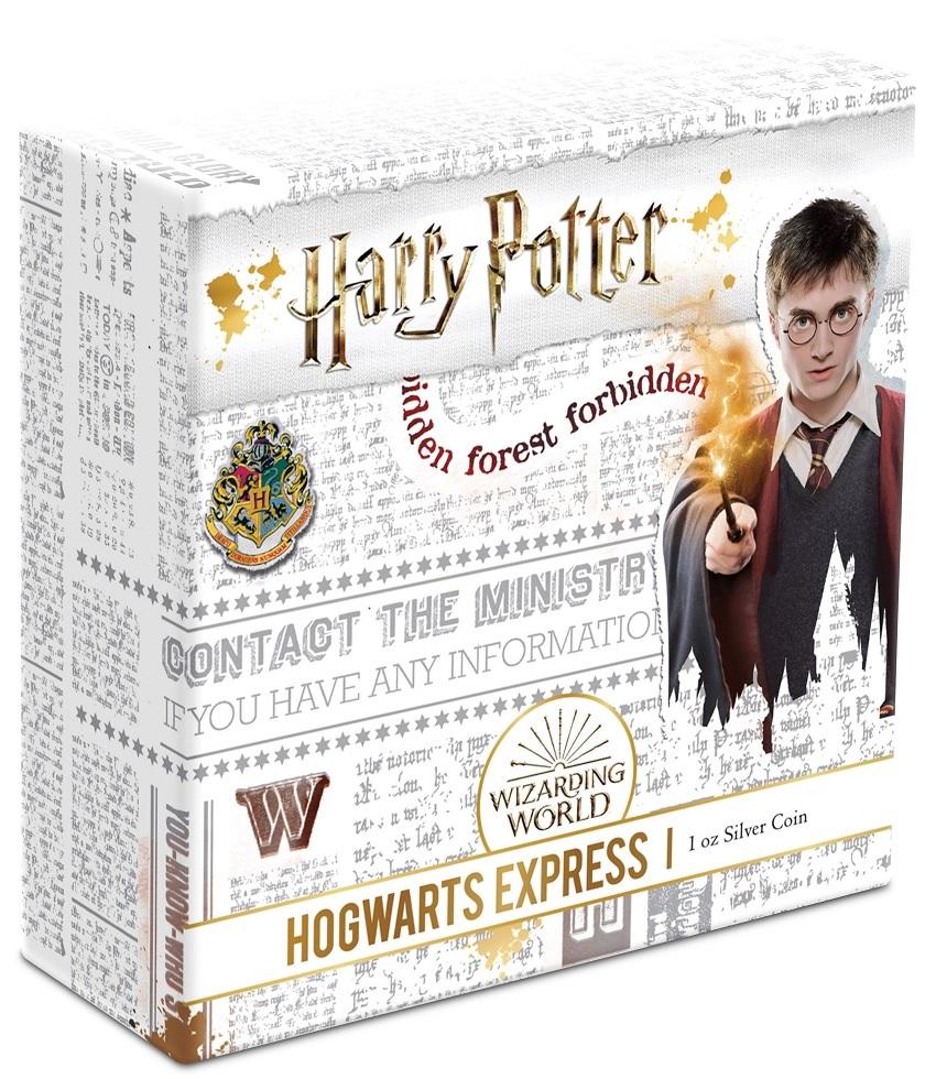 (W160.200.2020.1.ag.bullco.30-00891) 2 dollars Niue 2020 1 oz Proof silver - Hogwarts Express (box) (zoom)