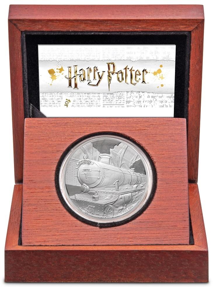 (W160.200.2020.1.ag.bullco.30-00891) 2 dollars Niue 2020 1 oz Proof silver - Hogwarts Express (case) (zoom)