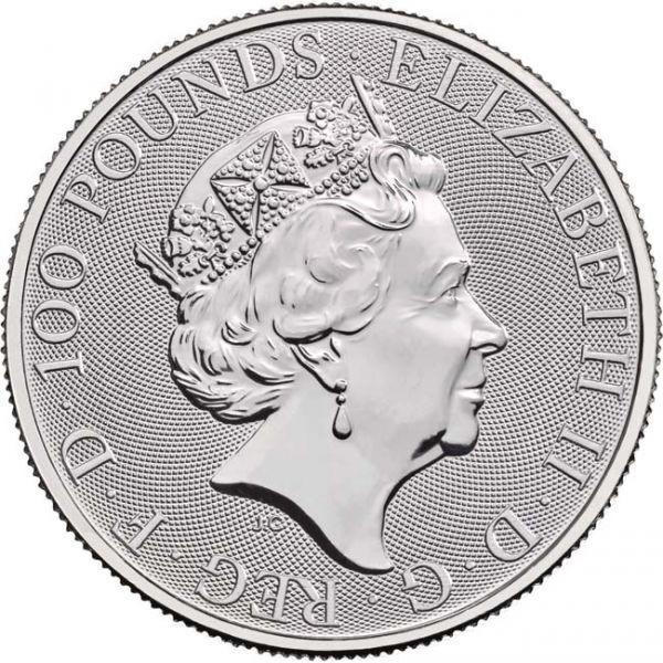 (W185.10000.2020.1.pt.bullco.1) 100 Pounds United Kingdom 2020 1 oz platinum - Britannia Obverse (zoom)