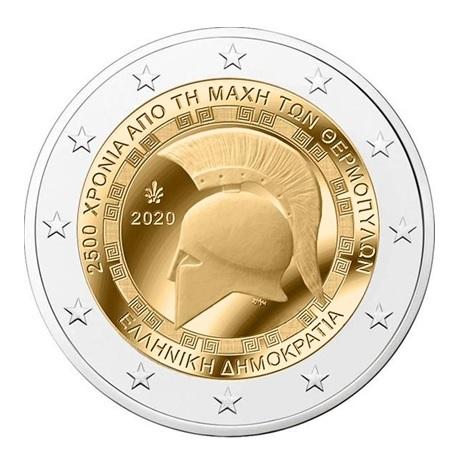 2 euro commémorative Grèce 2020 - Bataille des Thermopyles
