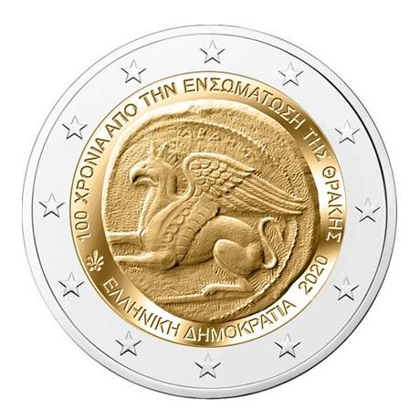 2 euro commémorative Grèce 2020 - Union de la Thrace