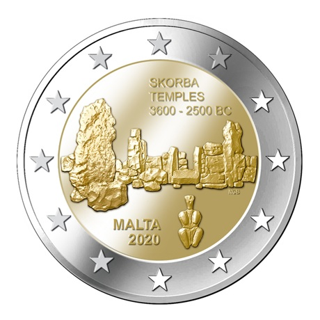 2 euro commémorative Malte 2020 - Skorba