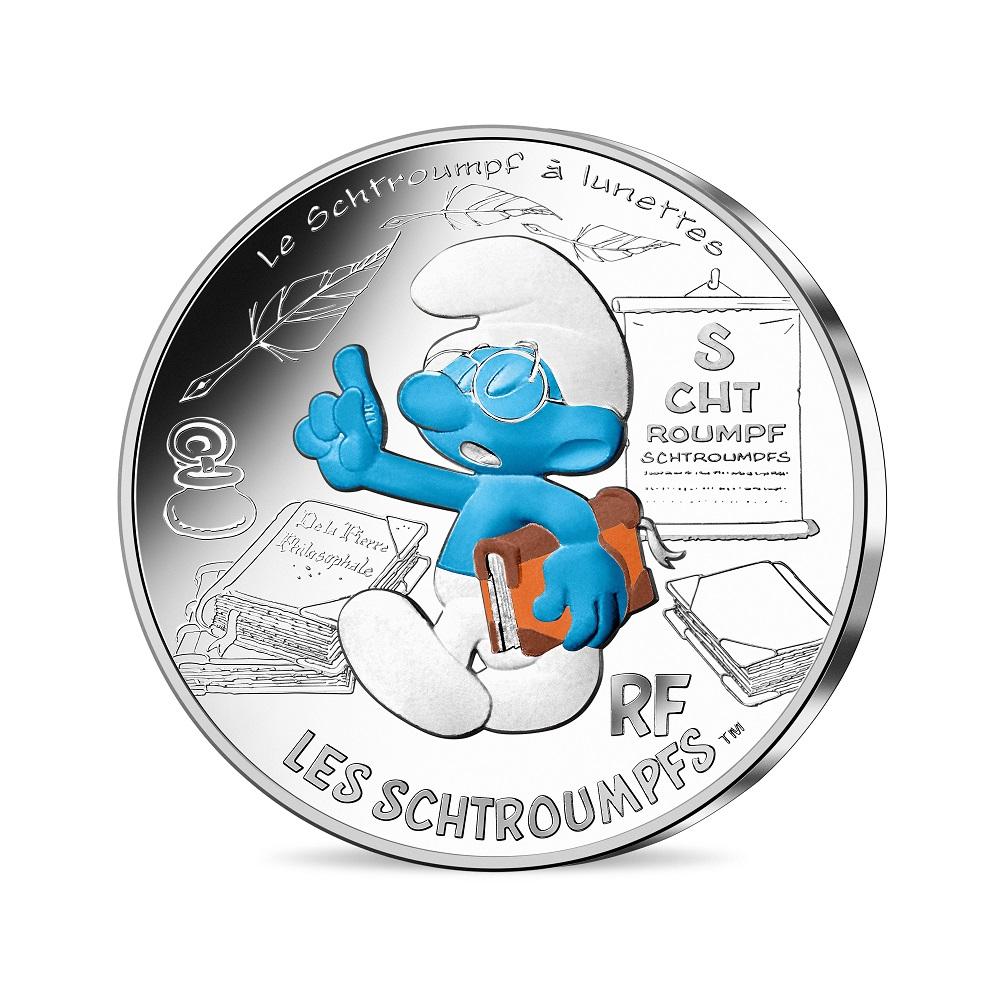(EUR07.1000.2020.10041345500005) Brainy Smurf Obverse (zoom)