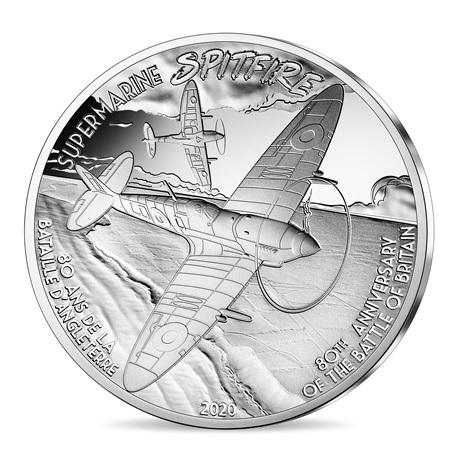 (EUR07.ComBU&BE.2020.1000.BE.10041324270000) 10 euro France 2020 argent BE - Supermarine Spitfire Revers