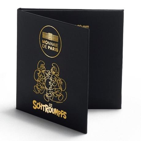 (EUR07.ComBU&BE.2020.20000.BU.10041345710001) Ronde des Schtroumpfs (cartelette)