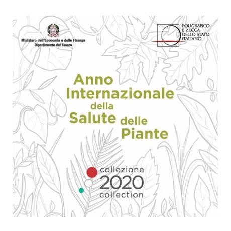 (EUR10.CofBU&FDC.2020.Cof-BU.1) Coffret BU Italie 2020 (Santé des plantes)