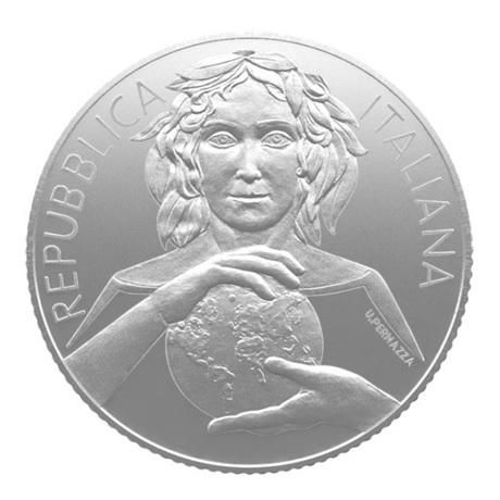(EUR10.ComBU&BE.2020.500.BU.COM2) 5 euro Italie 2020 argent BU - Santé des plantes Avers