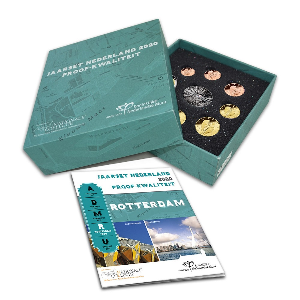 (EUR14.CofBE.2020.0108099) Proof coin set Netherlands 2020 (zoom)
