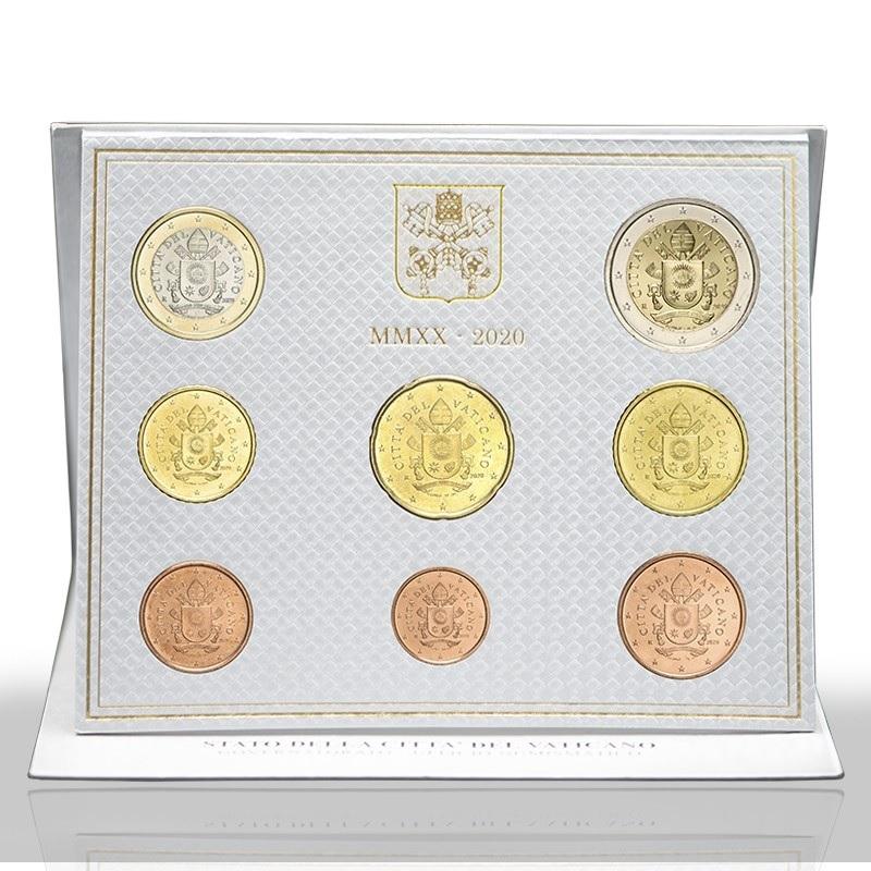 (EUR19.CofBU&FDC.2020.CN1527) BU coin set Vatican City 2020 (zoom)