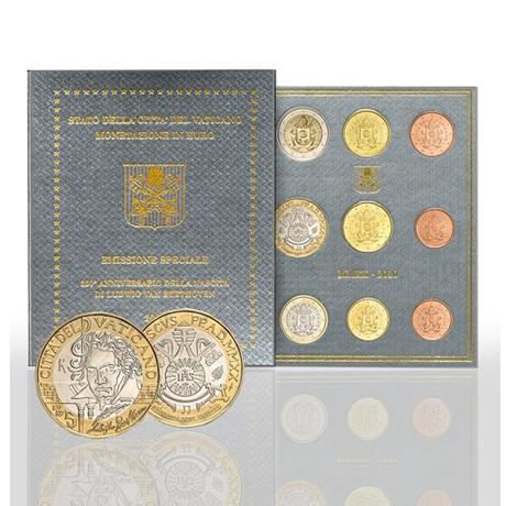 (EUR19.CofBU&FDC.2020.CN1533) Coffret BU Vatican 2020 - Beethoven