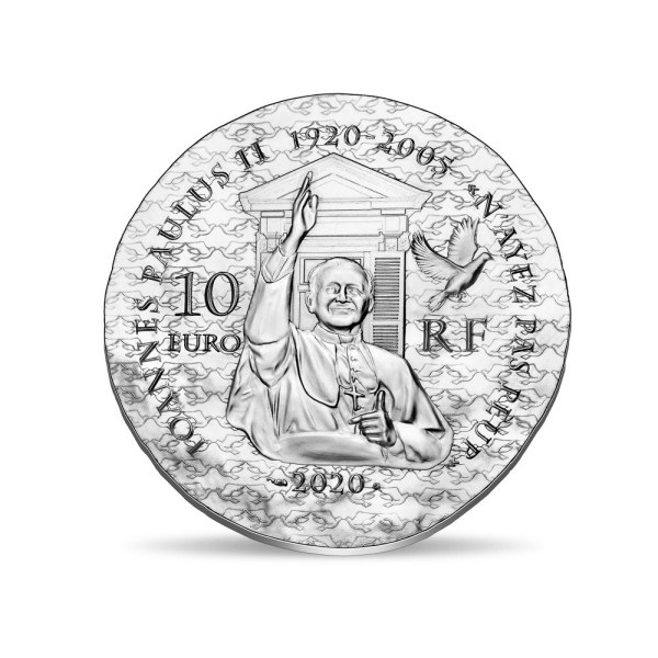 (EUR07.ComBU&BE.2020.1000.BE.10041344170000) 10 euro France 2020 Proof Ag - Sister Emmanuelle Reverse (zoom)