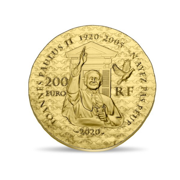 (EUR07.ComBU&BE.2020.20000.BE.10041344150000) 200 euro France 2020 Proof Au - Sœur Emmanuelle Reverse (zoom)