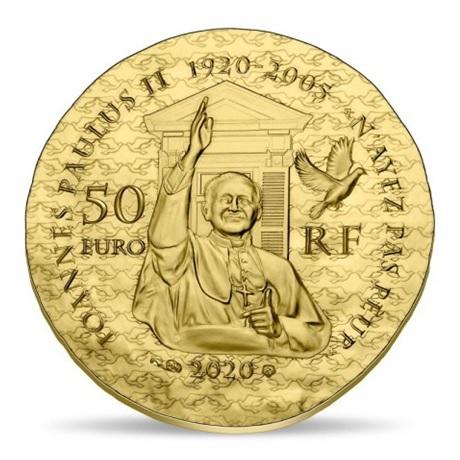 (EUR07.ComBU&BE.2020.5000.BE.10041344160000) 50 euro France 2020 or BE - Soeur Emmanuelle Revers