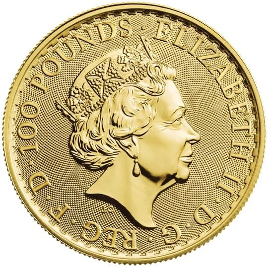 (W185.10000.2020.UKB20GOS) 100 Pounds United Kingdom 2020 1 oz gold - Britannia Obverse (zoom)