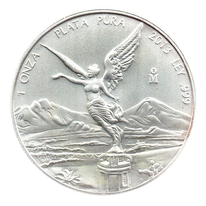 (BULLMED148.CMM.2013.1.oz.Ag.1.000000002) BU Au token 1 oz - Libertad 2013 Reverse (zoom)