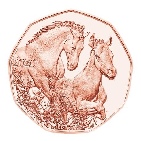 (EUR01.500.2020.24607) 5 euro Autriche 2020 - Amis pour la vie Revers