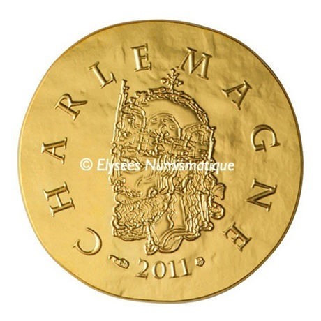 (EUR07.ComBU&BE.2011.10041269220000) 50 euro France 2011 Au BE - Charlemagne Avers