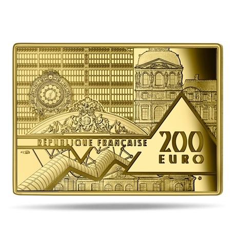 (EUR07.ComBU&BE.2020.10041343670000) 200 euro France 2020 or BE - La Vague Avers