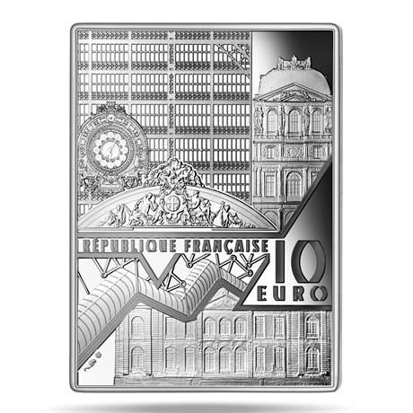 (EUR07.ComBU&BE.2020.10041343750000) 10 euro France 2020 argent BE - Autoportrait de Van Gogh Avers