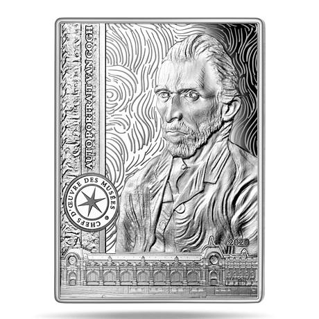 (EUR07.ComBU&BE.2020.10041343750000) 10 euro France 2020 argent BE - Autoportrait de Van Gogh Revers