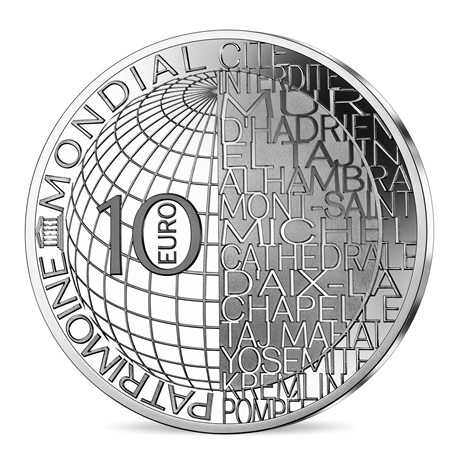 (EUR07.ComBU&BE.2020.10041344140000) 10 euro France 2020 Ag BE - Olympie Revers