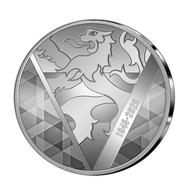 (EUR23.CofBU&FDC.2020.Cof-BU) BU coin set Benelux 2020 (medal reverse) (zoom)