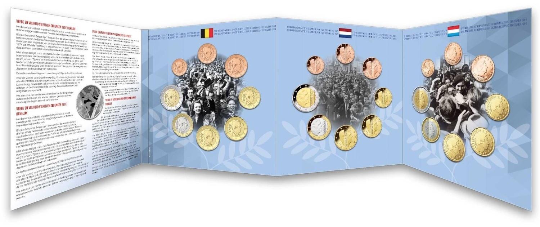 (EUR23.CofBU&FDC.2020.Cof-BU) BU coin set Benelux 2020 (open) (zoom)