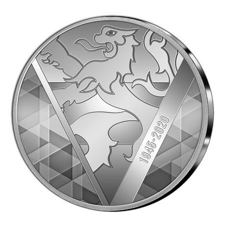 (EUR23.CofBU&FDC.2020.Cof-BU) Coffret BU Benelux 2020 (revers médaille)