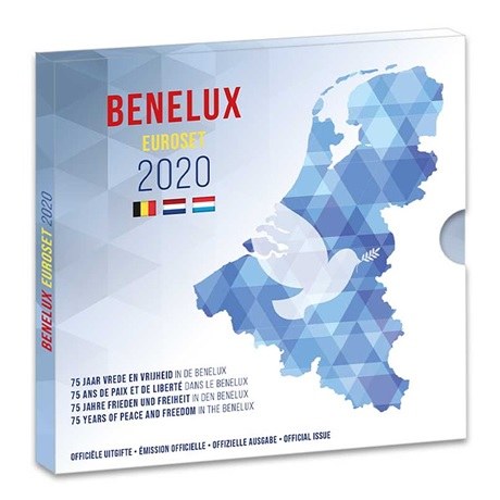 (EUR23.CofBU&FDC.2020.Cof-BU) Coffret BU Benelux 2020