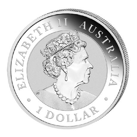 (W017.100.2019.1.ag.bullco.1) 1 Dollar Australie 2019 1 once argent - Pépite Welcome Stranger Avers